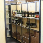 mobilier et agencement professionnels épicerie bio cave à vin, réalisé par 2 bois et d'acier (ferronnerie ébénisterie dieulefit drôme)