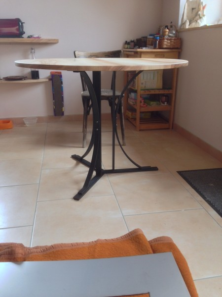 piétement de table